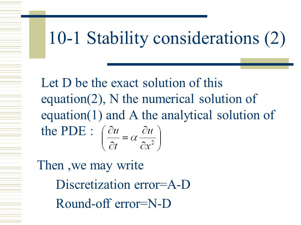 10-1 Stability considerations (2)