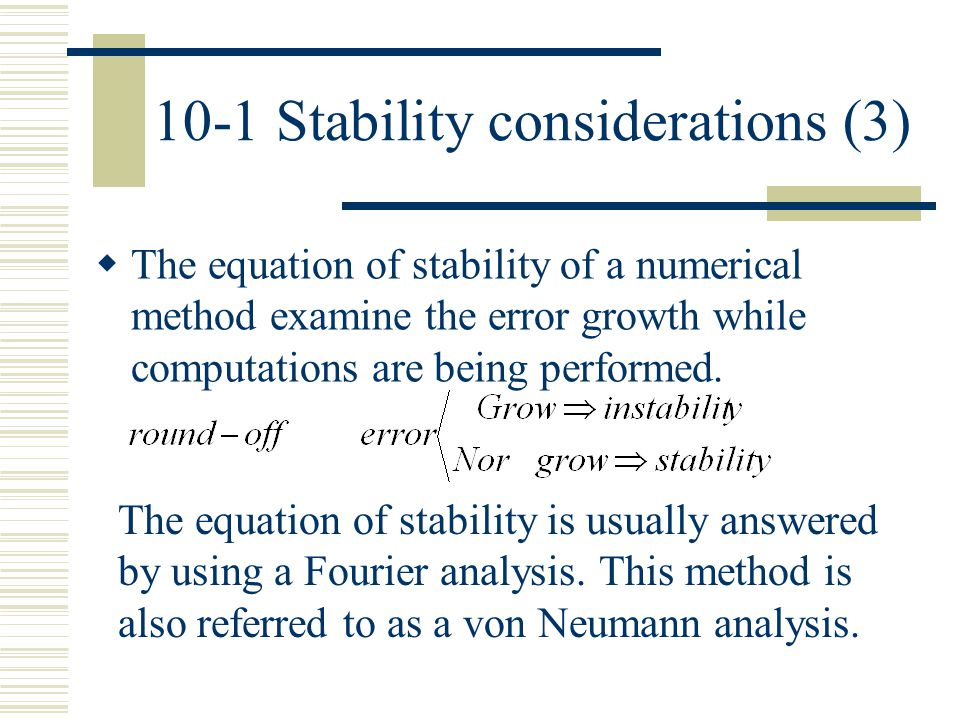 10-1 Stability considerations (3)