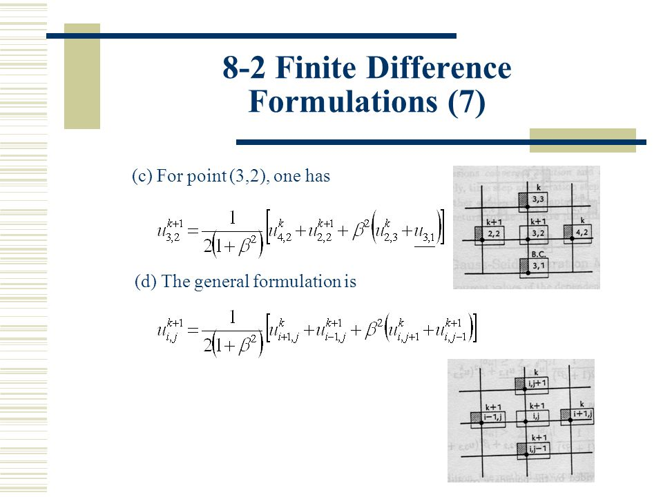 8-2 Finite Difference Formulations (7)