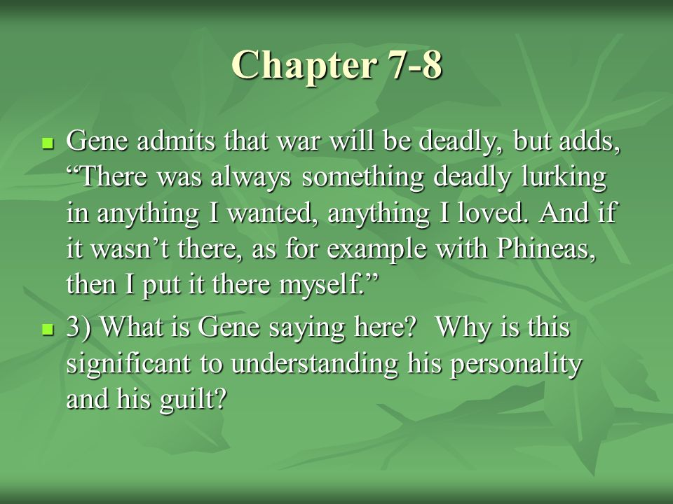 Chapter 7-8