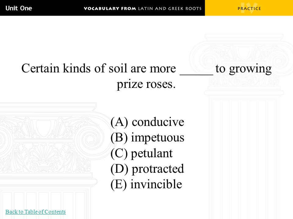 Certain kinds of soil are more _____ to growing prize roses.