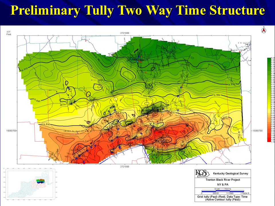 Preliminary Tully Two Way Time Structure