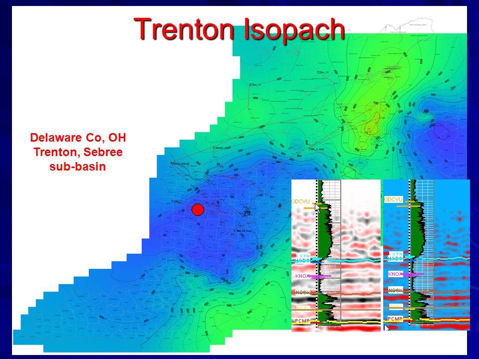 Delaware Co, OH Trenton, Sebree sub-basin