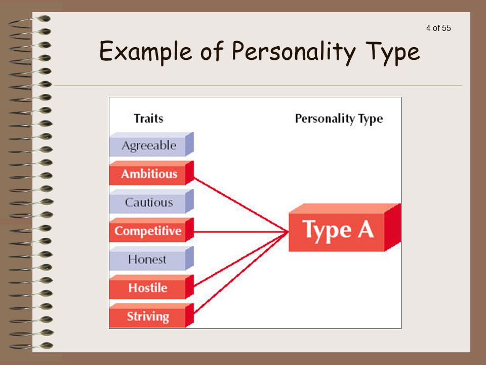 Example of Personality Type