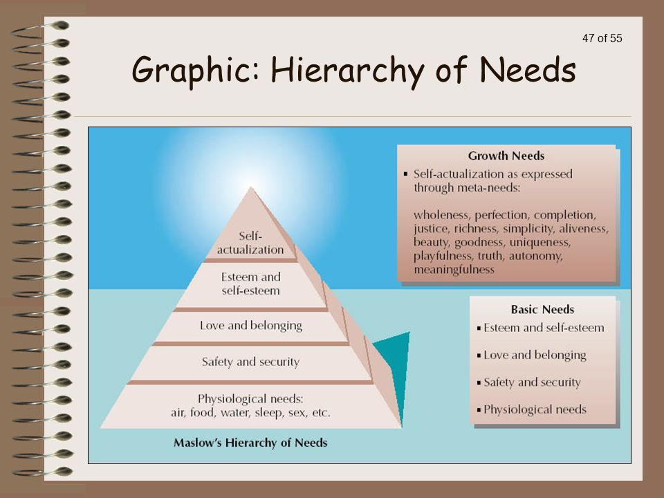 Graphic: Hierarchy of Needs