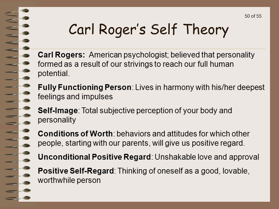 Carl Roger's Self Theory
