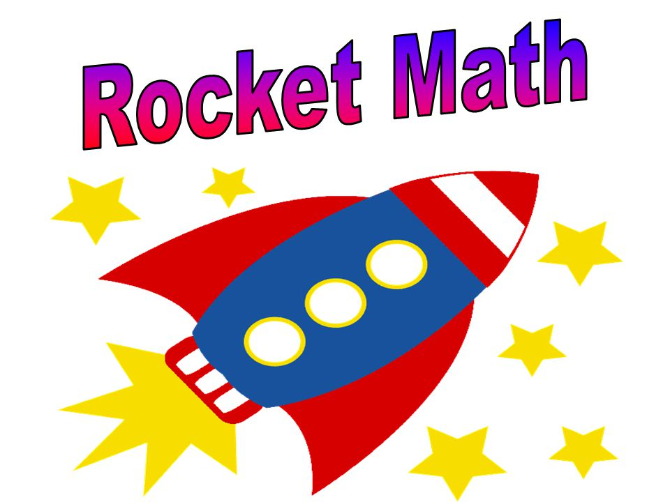 Rocket Math On Friday, we had our first two minute timings for this year.