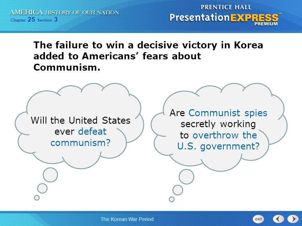 Will the United States ever defeat communism