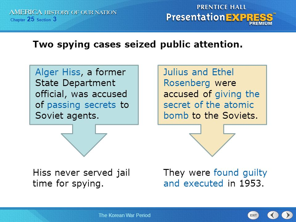 Two spying cases seized public attention.