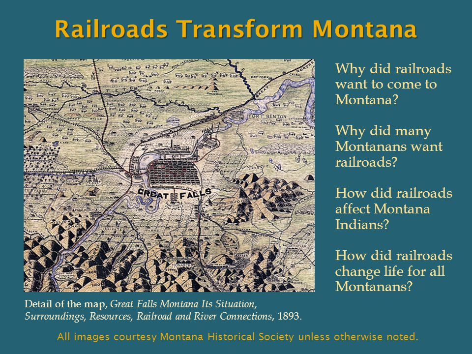 Railroads Transform Montana