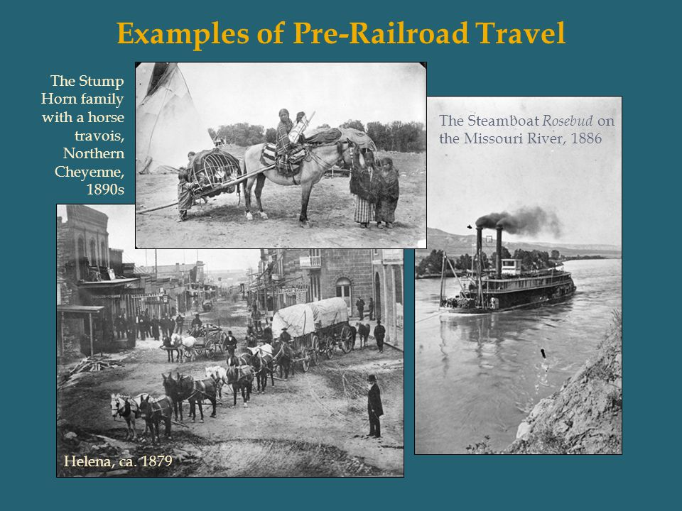 Examples of Pre-Railroad Travel