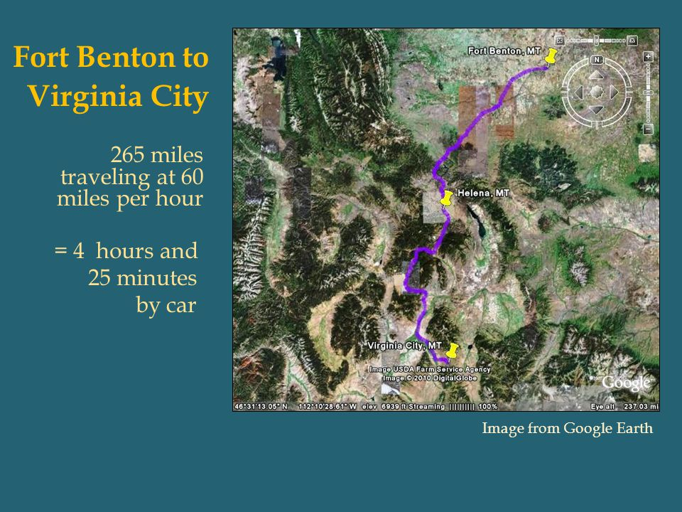 Fort Benton to Virginia City