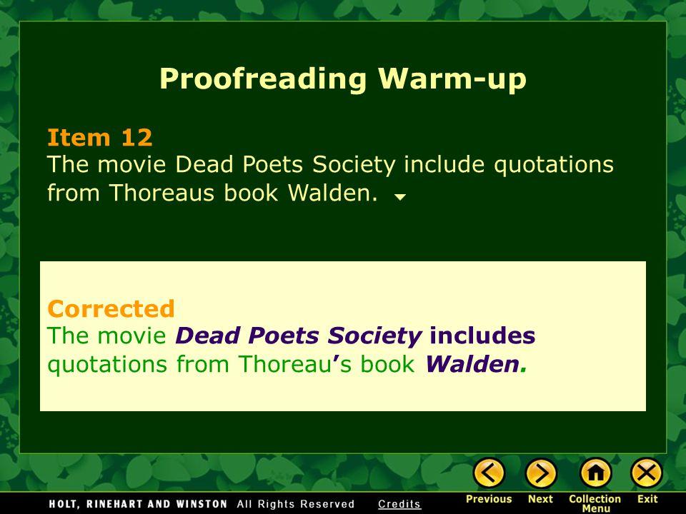 Proofreading Warm-up Item 12 Corrected