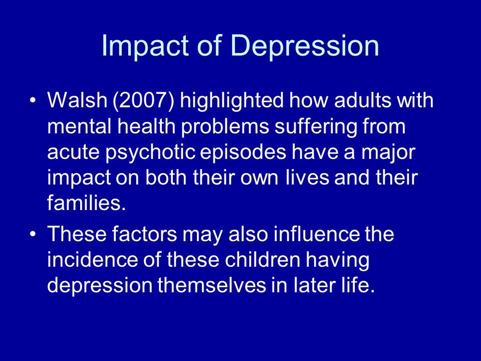 Impact of Depression