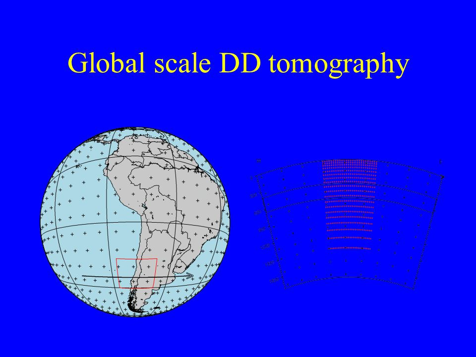 Global scale DD tomography