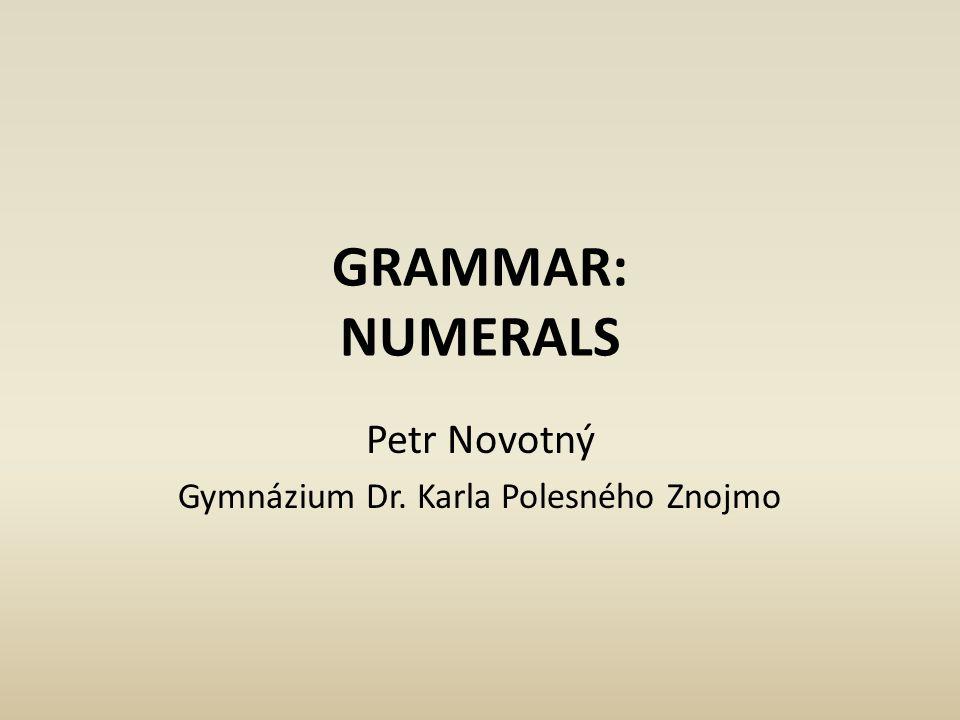 Petr Novotný Gymnázium Dr. Karla Polesného Znojmo