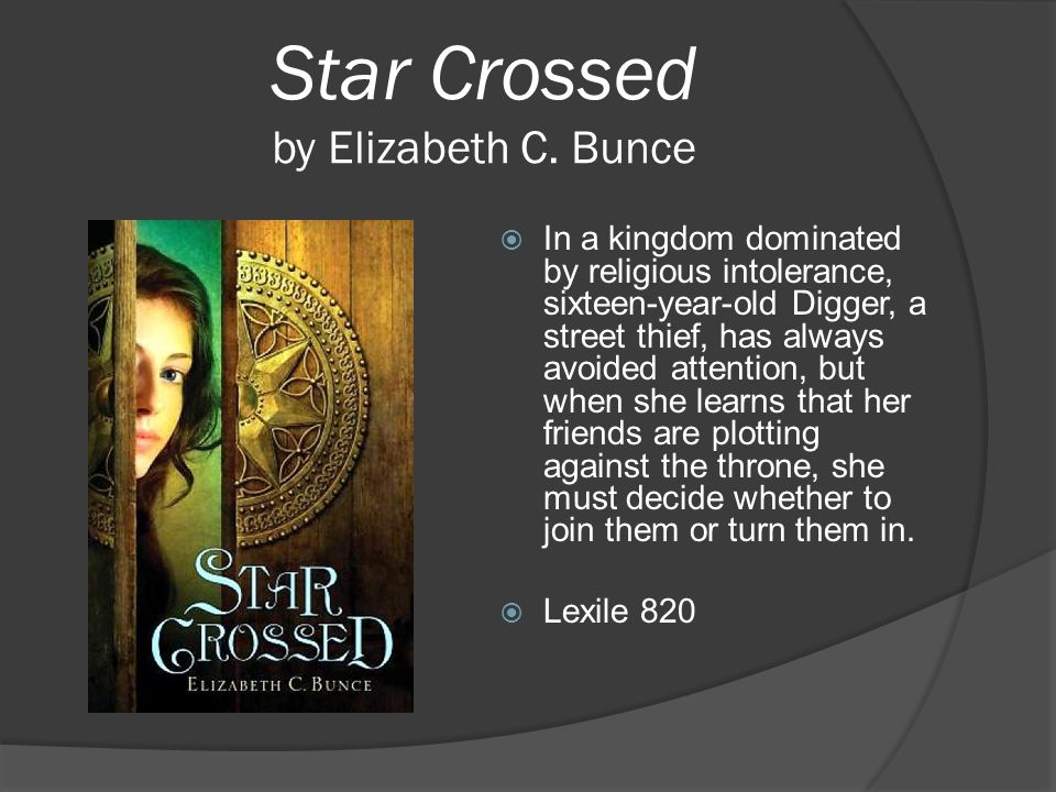 Star Crossed by Elizabeth C. Bunce