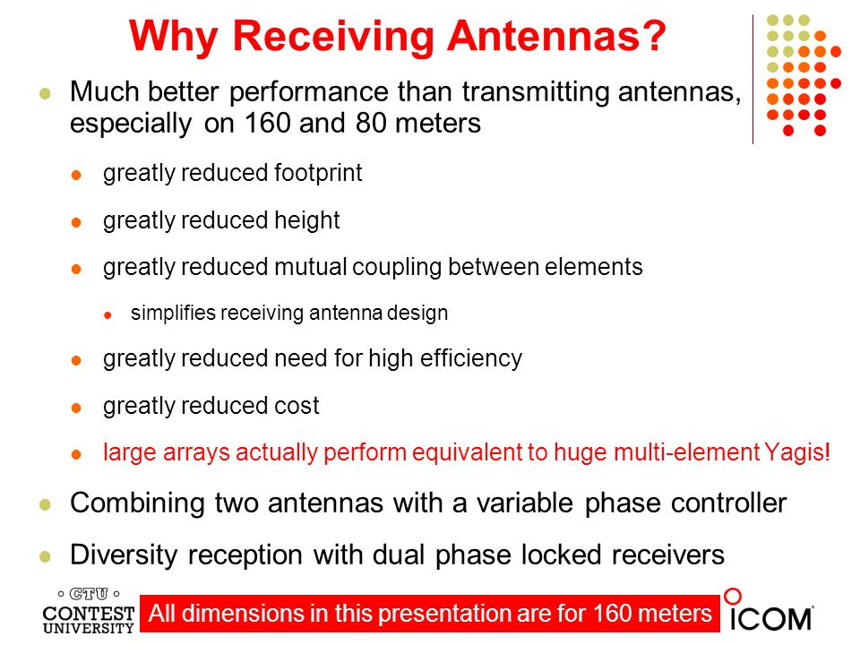 Why Receiving Antennas