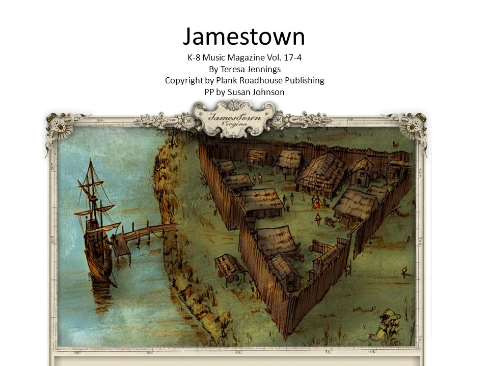 Jamestown K-8 Music Magazine Vol