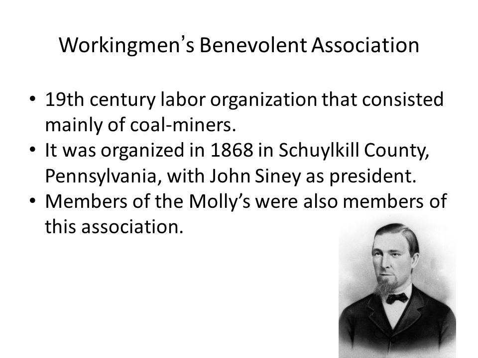 Workingmen's Benevolent Association