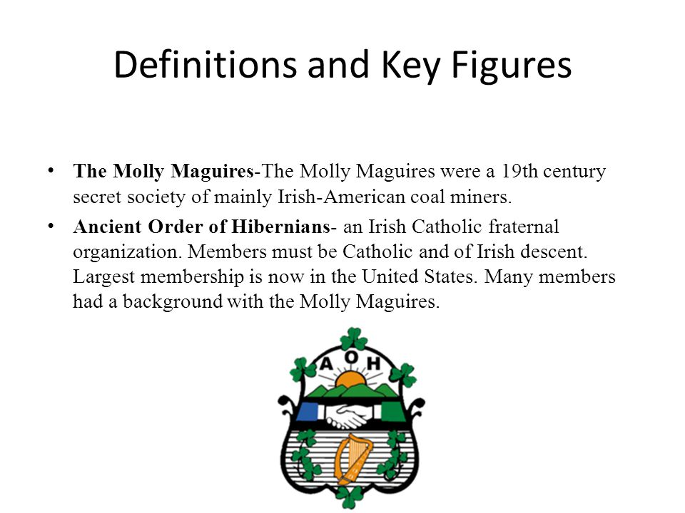 Definitions and Key Figures
