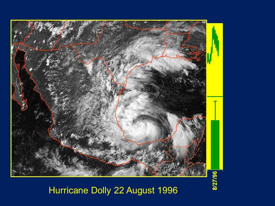Hurricane Dolly 22 August 1996