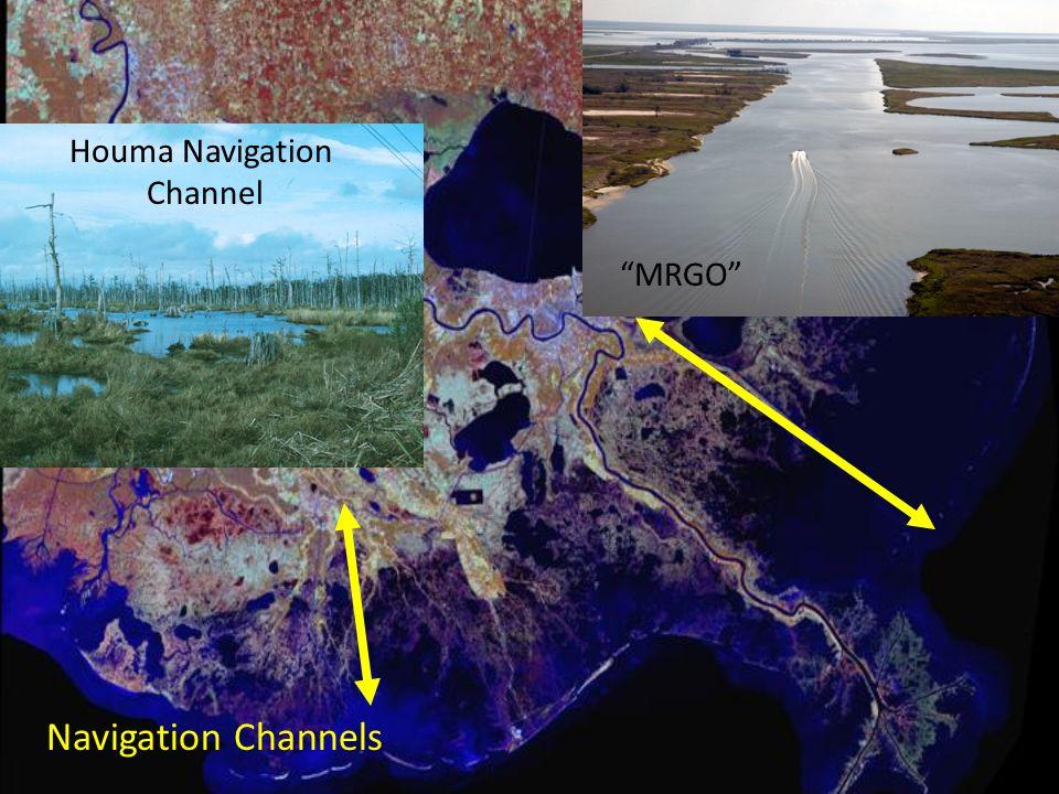 MRGO Houma Navigation Channel Navigation Channels