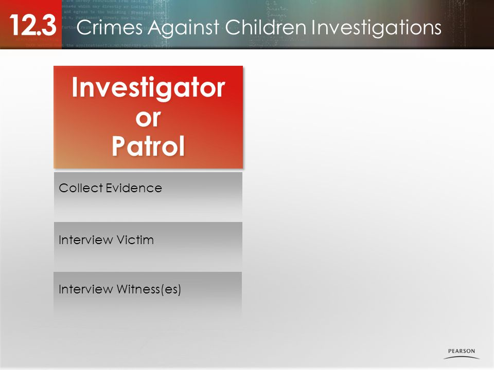 Crimes Against Children Investigations