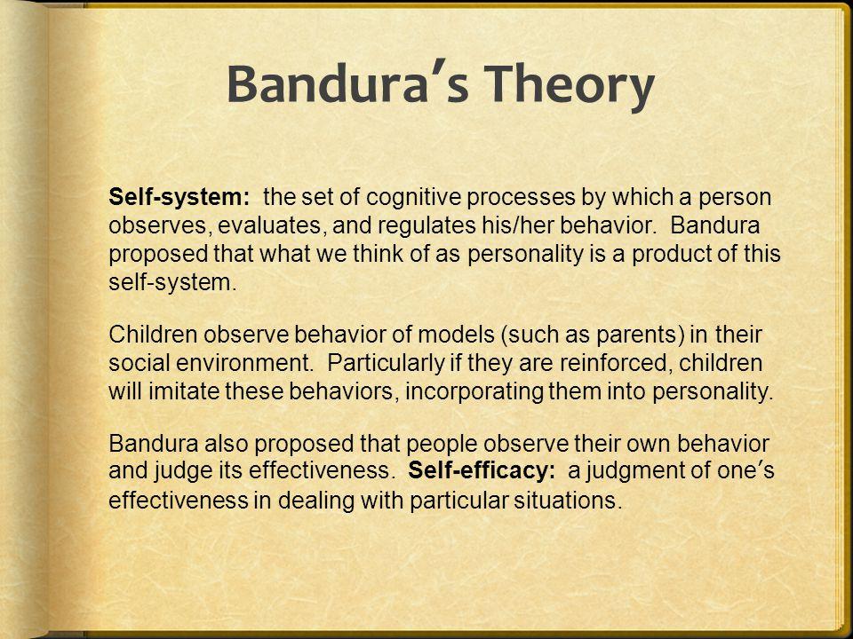 Bandura's Theory