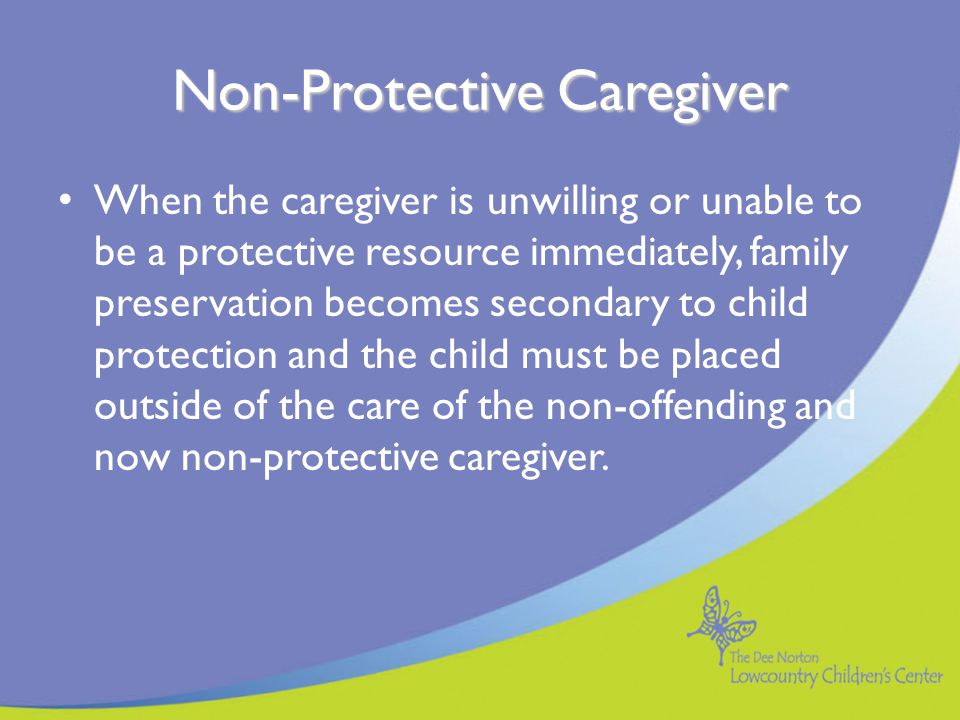 Non-Protective Caregiver