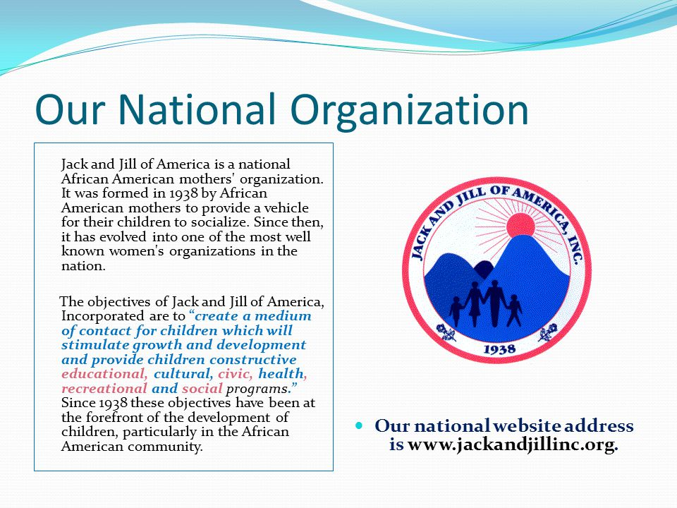 Our National Organization
