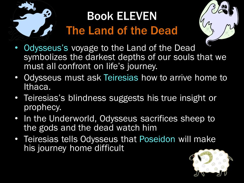 Book ELEVEN The Land of the Dead