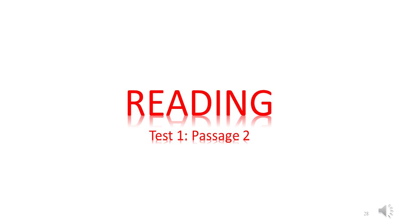 READING Test 1: Passage 2