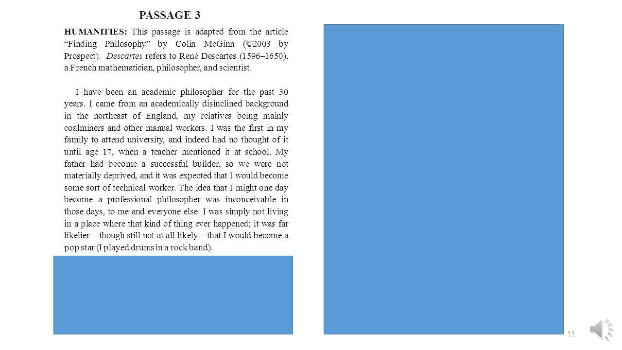 PASSAGE 3
