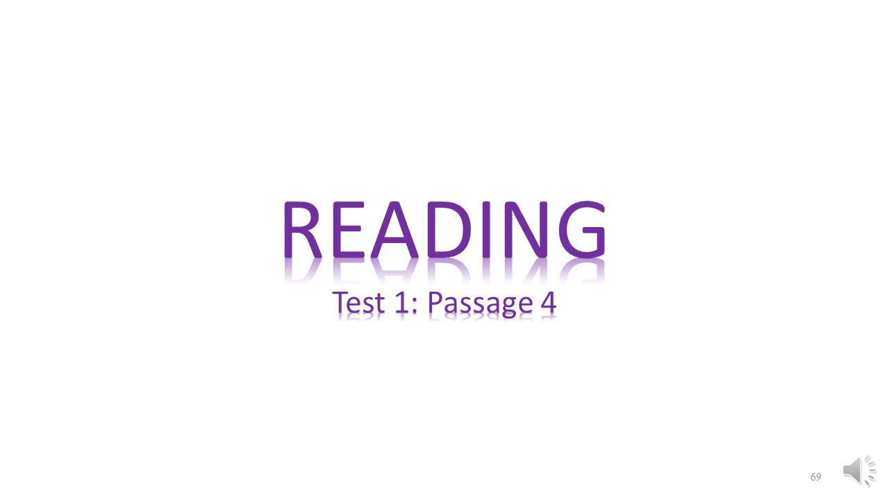READING Test 1: Passage 4