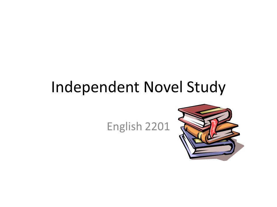 Independent Novel Study