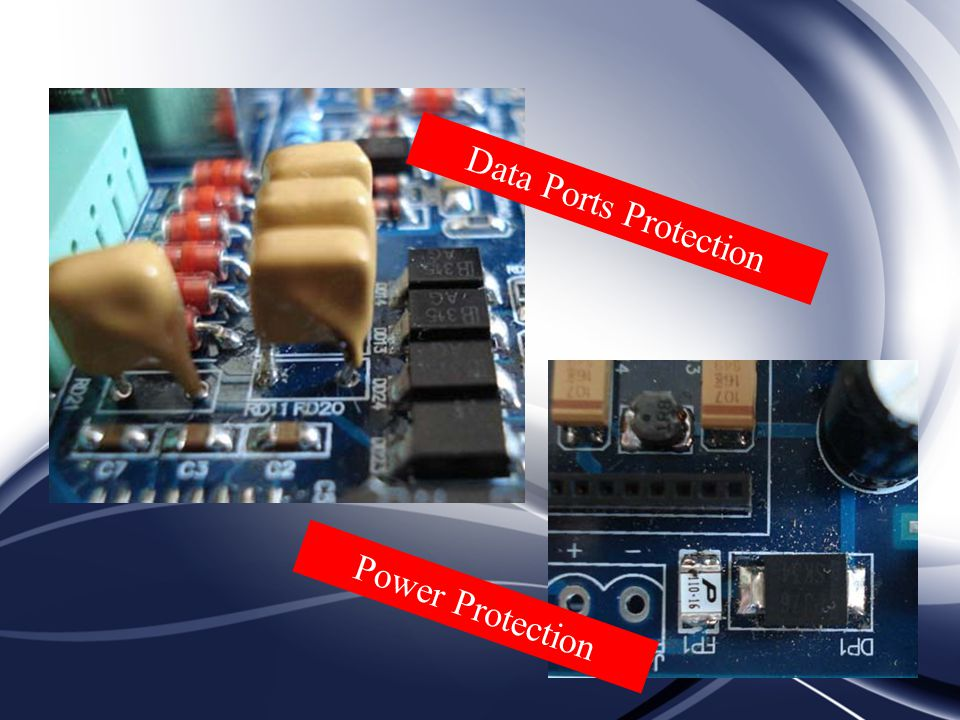 Data Ports Protection Power Protection