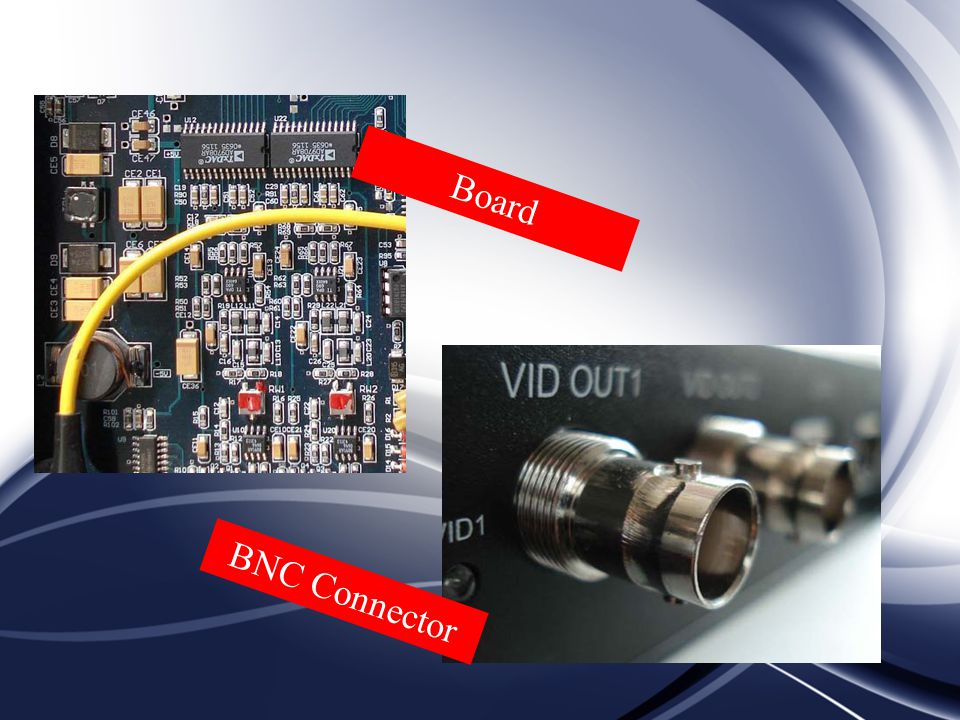 Board BNC Connector