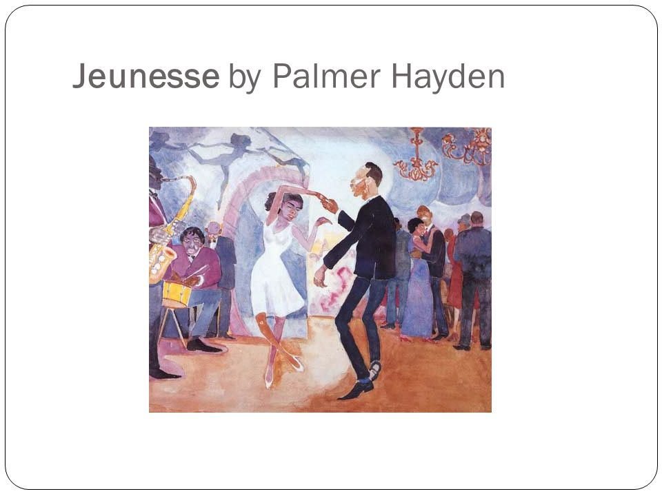 Jeunesse by Palmer Hayden