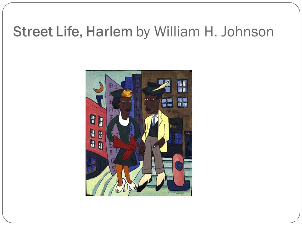 Street Life, Harlem by William H. Johnson