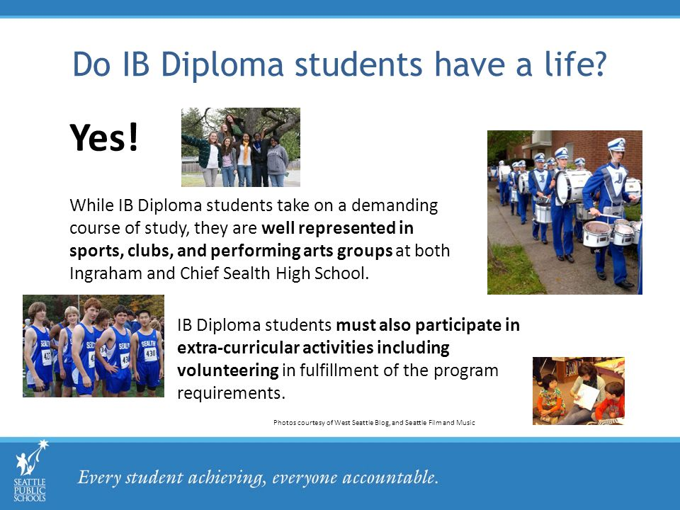 Do IB Diploma students have a life