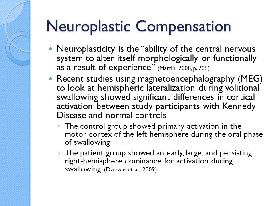 Neuroplastic Compensation