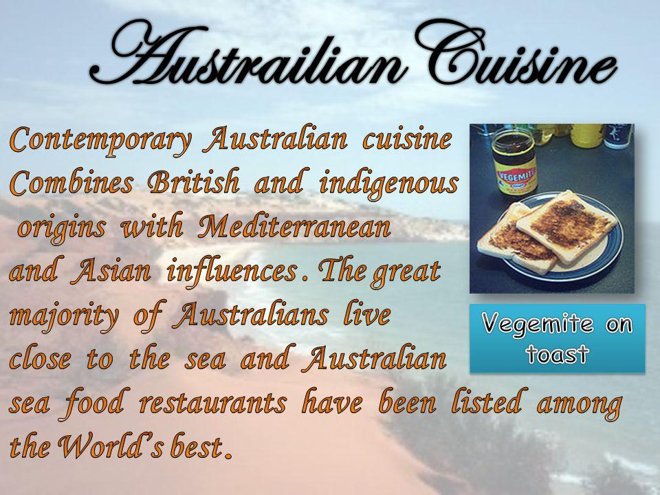 AustrailianCuisine Contemporary Australian cuisine