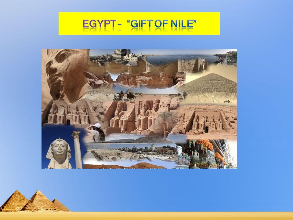 EGYPT – Gift of Nile