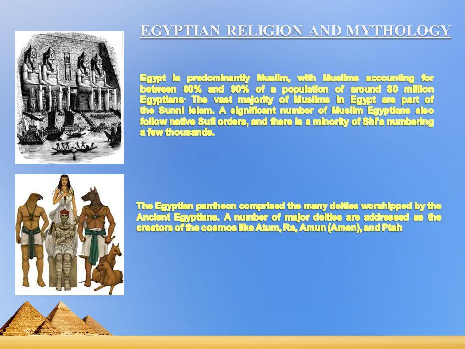 EGYPTIAN RELIGION AND MYTHOLOGY