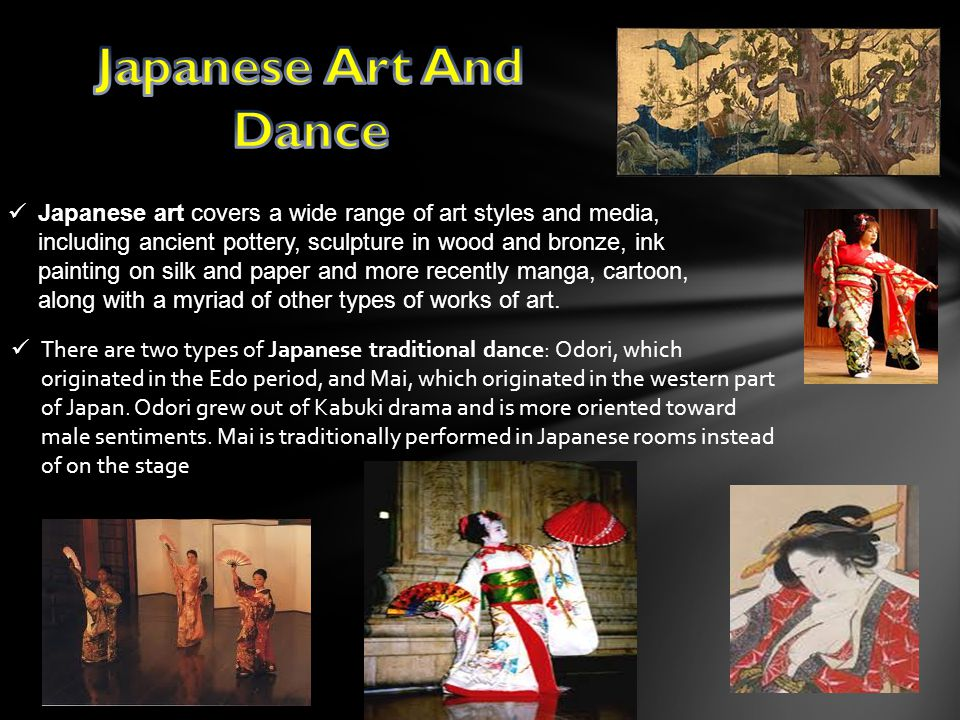 Japanese Art And Dance