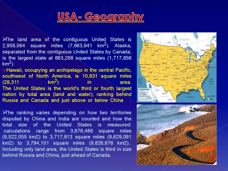 USA- Geography