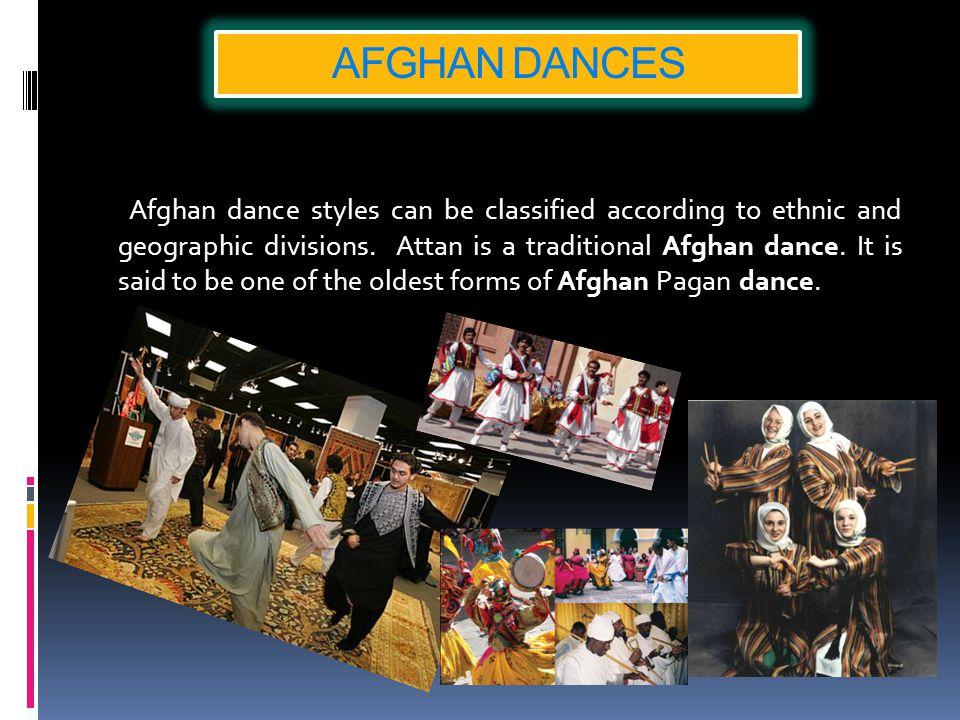 AFGHAN DANCES