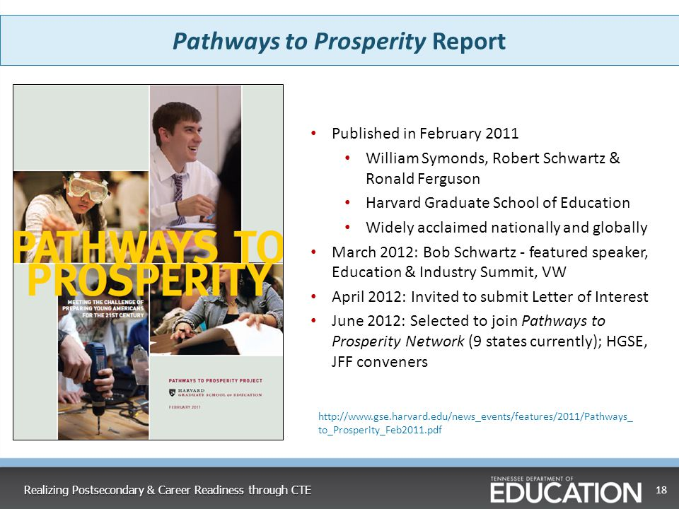 Pathways to Prosperity Report