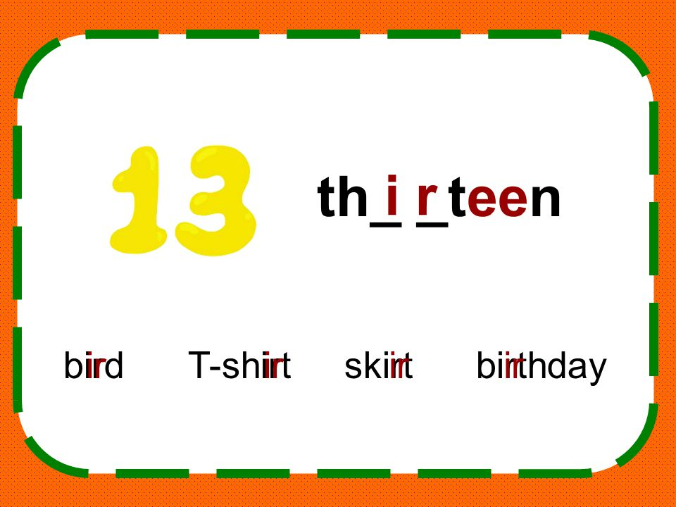 th_ _teen i r bird T-shirt skirt birthday ir ir ir ir